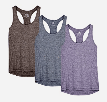 Women's workout tops