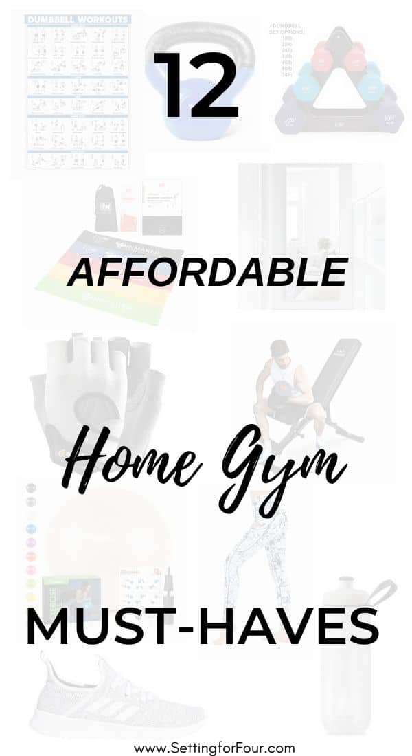 12 Affordable Home Gym MUST-HAVES! How To Create An Inexpensive, Small Space Home Gym.