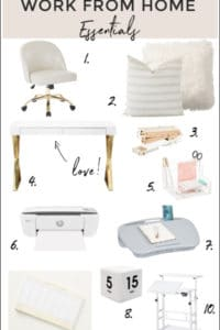 10 Beautiful Work From Home Essentials