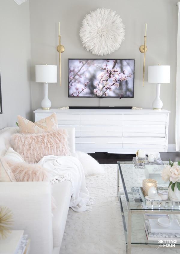 Elegant Spring Living Room Decorating Ideas