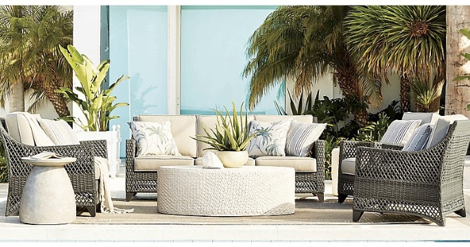 Hot sales on home furniture, pillows, lighting and decor.