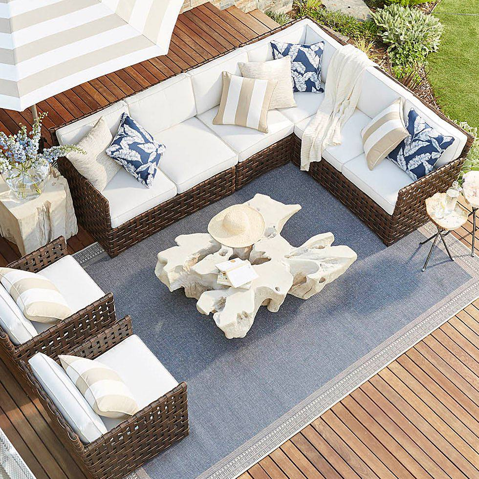 Create Your Backyard Retreat! Hot sales on outdoor home furniture, pillows, lighting and decor.