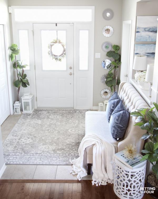 Summer Home Tour 2020 - Gorgeous Entryway Decor Ideas.