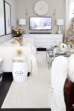 Designer Elegant Christmas Living Room Decor Ideas