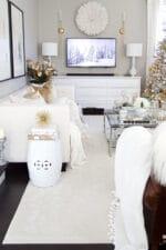 Designer Elegant Christmas Living Room Decor Ideas
