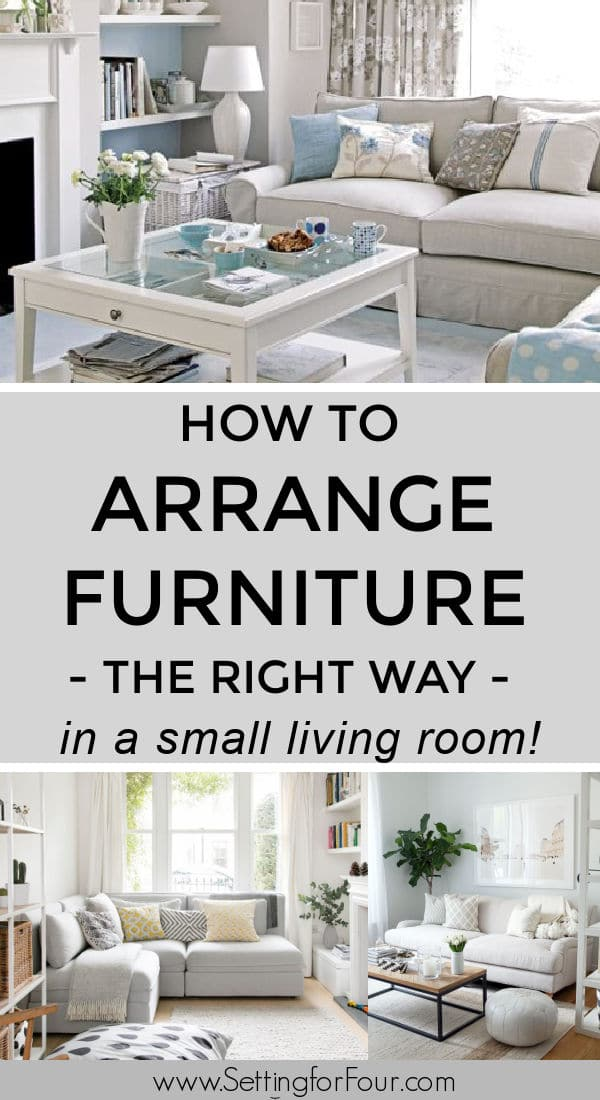 How To Arrange Furniture In A Small, How To Arrange Furniture In A Small Living Room