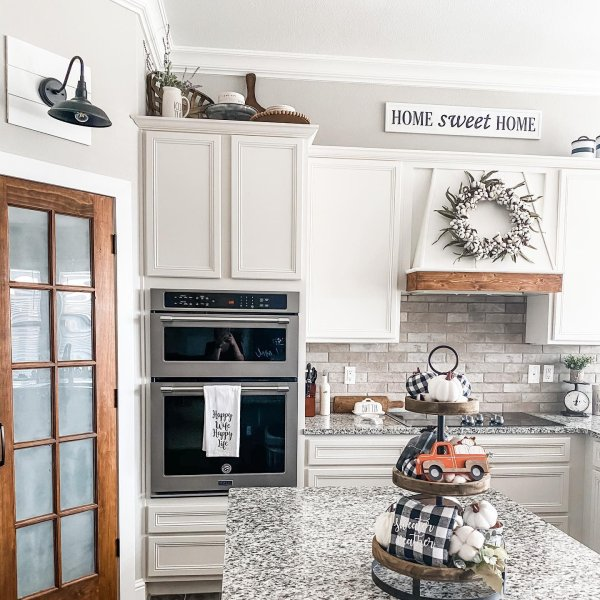 Kitchen walls painted Agreeable Gray